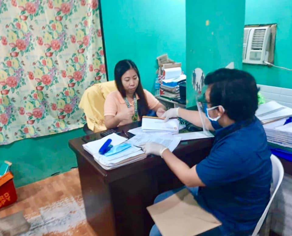 DILG-7 ORDERS BRGY OFFICIALS OF MAMBALING, CEBU CITY TO